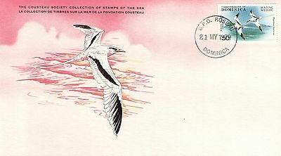 (15496) White-tailed Tropicbird - Cousteau Cover - Dominica 1979