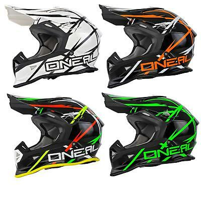 O'Neal 2Series MX Helm Thunderstruck Moto Cross Enduro Quad Fullface ABS Helmet