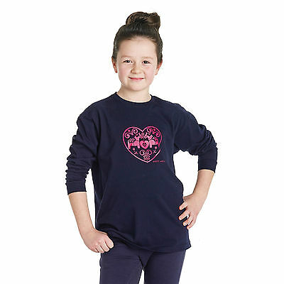 New Kids ** Harry Hall ** Age 5-6Yrs  Childrens Long Sleeve T Shirt Horse Top