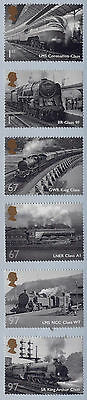 Gb 2010 Great British Railways Set Mnh