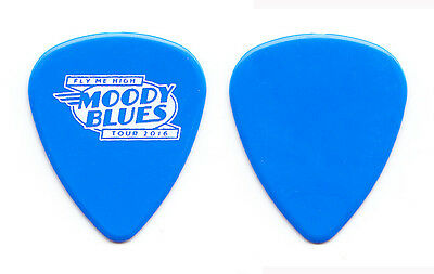 Moody Blues Blue Guitar Pick - 2016 Fly Me High Tour