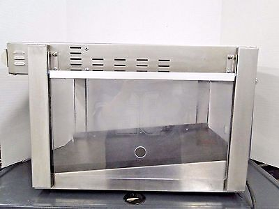 Hatco Glo-Ray Commercial Compact Display Food Warmer Model GRCW-1