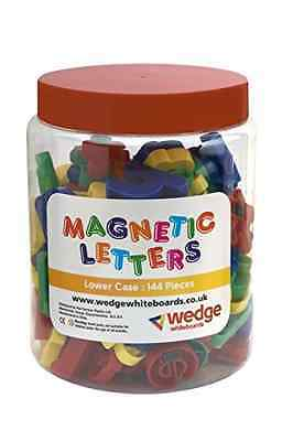 Wedge Whiteboards - Tub of 144 Magnetic Lower Case Letters, Spelling, Pre-school