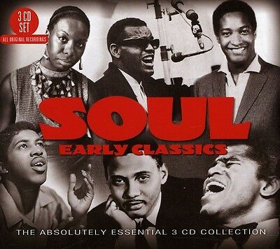Various Artists - Soul: Early Classics-The Absolutely Essential 3CD [New CD] UK
