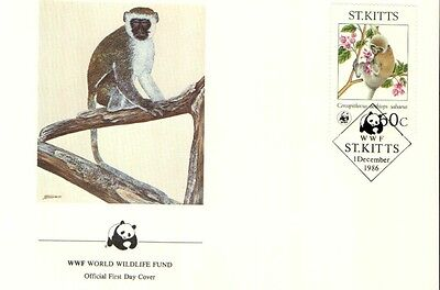 (72362) FDC - ST.Kitts - Singe - 1986