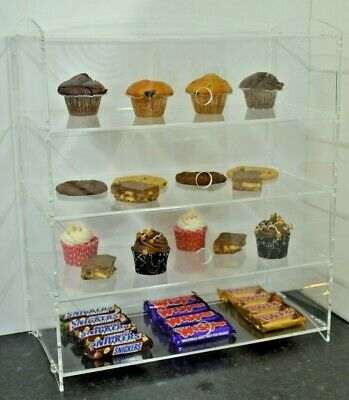 Acrylic Bakery Pastries Cake Confectionery Sweet Perspex Display Sales Cabinet