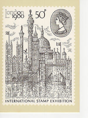 Great Britain - 1980 Stamp - Phq43 Post Card - 1980