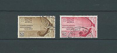 ITALIE - 1935 YT 87 à 88 - POSTE AERIENNE - TIMBRES OBL. / USED