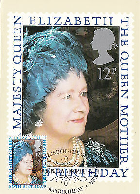 (38050) GB PHQ FDI Queen Mother 80th Birthday - Windsor 4 August 1980