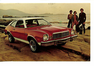 1976 Lincoln Mercury Bobcat Car-Vintage Automobile Advertising Postcard