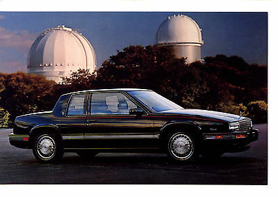 1987 Cadillac Car Vintage Automobile Advertising Dealer Postcard-Observatory