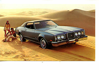 1973 Mercury Montego Car-Hartford CT Dealer-Vintage Auto Advertising Postcard