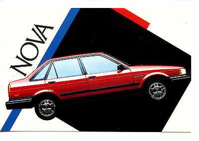 1985 Chevrolet Nova Car-Vintage Automobile Advertising Postcard