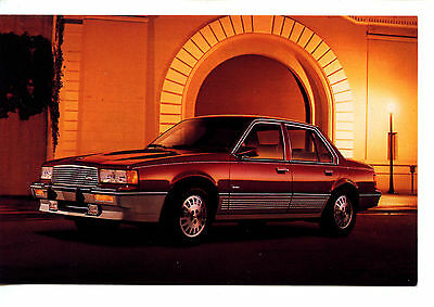 Cadillac Car 1988 Vintage Automobile Advertising Dealer Postcard