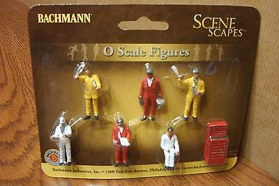 Bachmann Scene Scapes Mechanics O Scale Figures