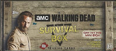 2016 Topps The Walking Dead Survival Box Factory Sealed Hobby Box