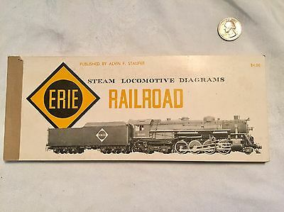 ERIE RAILROAD STEAM Locomotive Diagrams 110 Locomotive Drawings