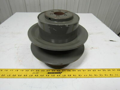 """T.B. Woods MCS-10W-HD Two Flange Moveable Variable Pulley Sheave 1-5/8"""" Bore"""