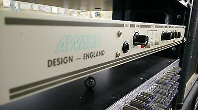 Award Design England Sessionmaster Direct Recording Pre-Amp GREAT MACHINE