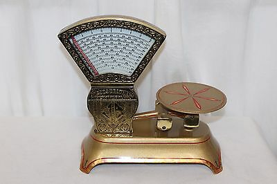 Early 1900s Original JACOB BROTHERS 2 lb Restored Mini Candy Vintage Scale