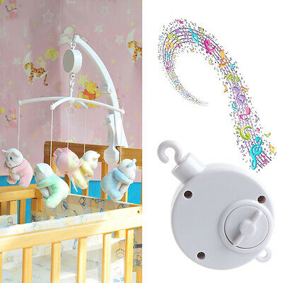 12/35 Songs Rotary Baby Mobile Crib Bed Toy Music Box Movement Bell Nursery Hot