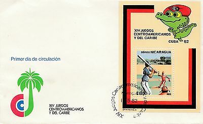 (41551) CLEARANCE Central American Caribean Games 18 May 1982 fair condition