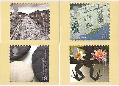 (38722) GB PHQ Water and Coast 2000 - Mint postcards