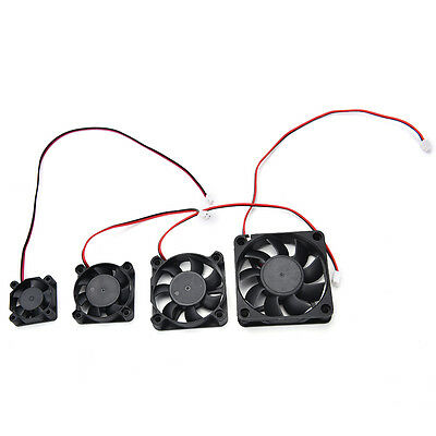 Hot 3D Printer 12V DC Cooling Fan RAMPS Electronics Extruder RepRap Prusa HUCA
