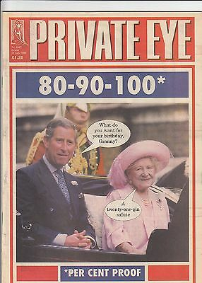 (B) Queen Mother 100th Cover - Private Eye Magazine 28 July 2000 No. 1007