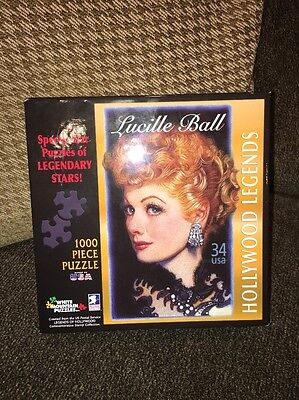 White Mountain Puzzles White Mountain Puzzles Lucille Ball Jigsaw Puzzle