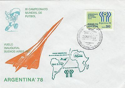 45865 FIN DE STOCKS Argentine Housse Concorde/Coupe Du Monde De Football 24 May