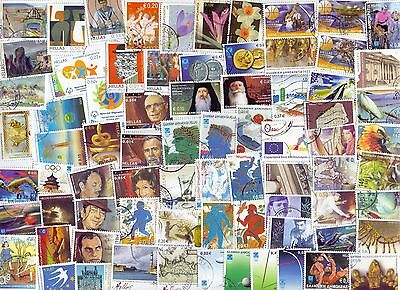 Greece Very Big Lot All Different  300    Used Stamps Only In Euro