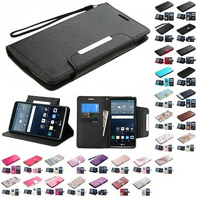 For LG G Stylo LS770 Wallet MyJacket Executive Pouch Case Slots Pockets