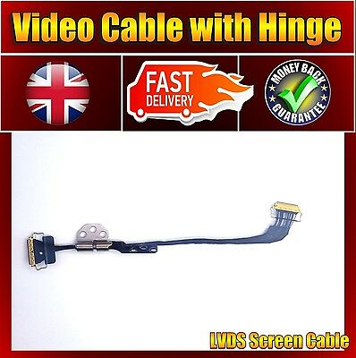 Brand New for Apple Macbook Air A1466 LED LVDS Screen Video Cable with Hinge