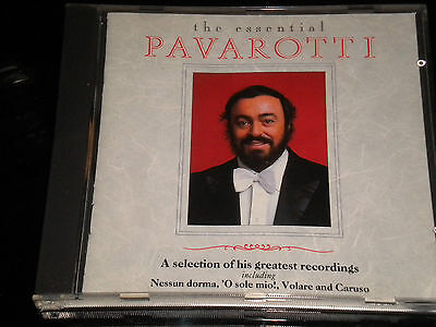 Luciano Pavarotti - The Essential Pavarotti - CD Album - 1990 - 18 Great Tracks