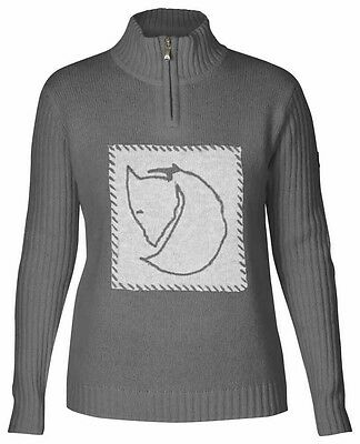 Fjällräven Louise Sweater Damen Pullover in grau