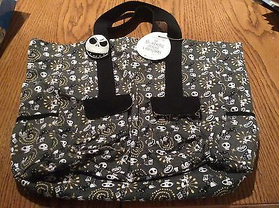 Nightmare Before Christmas Jack Toys Tote Bag Book Bag Loungefly NWT