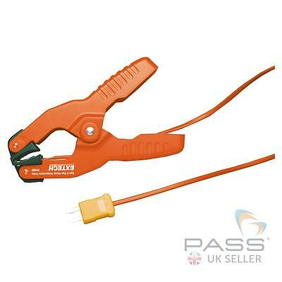NEW Extech TP200 Type K Pipe Clamp Temperature Probe / -4 to 200°F (-20 to 93°C)