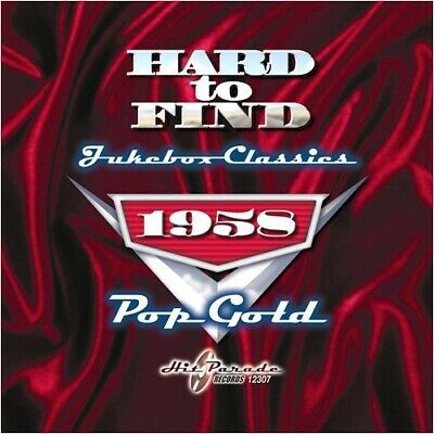 Various Artists - Hard To Find Jukebox Classics 1958: Pop Gold [New CD]