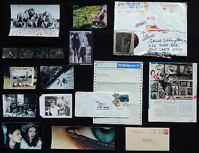LISTED Peter Beard AUTHENTIC COLLECTION of 9 ORIGINAL Photographs & 2 Collages