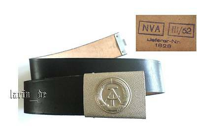 DDR Deutsche Armee NVA / Grenze 1962 Uniform Gürtel Koppel 85cm german army belt