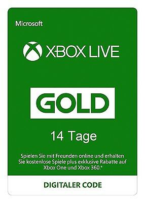 Xbox Live 14 Tage EU Mitgliedschaft Code One 360 - SOFORT PER MAIL