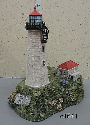 Harbour Lights - 1998 FAULKNER'S ISLAND Connecticut - Lighthouse #216 SIGNED
