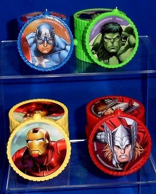 Marvel Avengers Themed Lot Set 24 DIY Party Decor Decorating Pcs Hang Sit B032