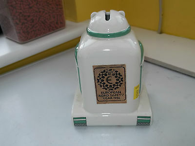 1986 Midwinter Robot Moneybox For European Road Safety Year 1986