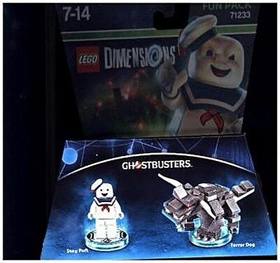 LEGO Dimensions, Fun Pack, Ghostbusters, Stay Puft, 2 Figure ... 5051892188814