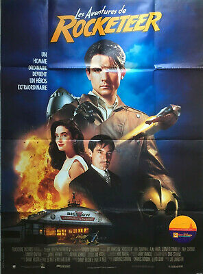 ROCKETEER 1991 Bill Campbell, Jennifer Connelly, Alan Arkin FRENCH POSTER