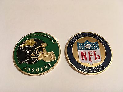 Nfl Jacksonville Jaguars Sport American Football Collectable Challenge Coin New