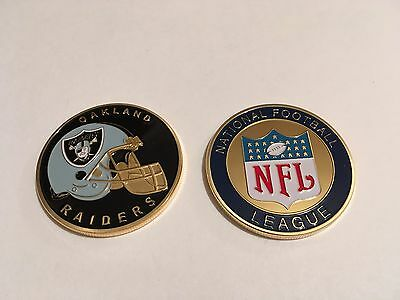 Nfl Oakland Raiders Sport American Football Collectable Challenge Coin New