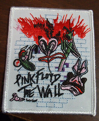 """Pink Floyd The Wall Embroidered 3""""x3 3/4"""" Patch New"""